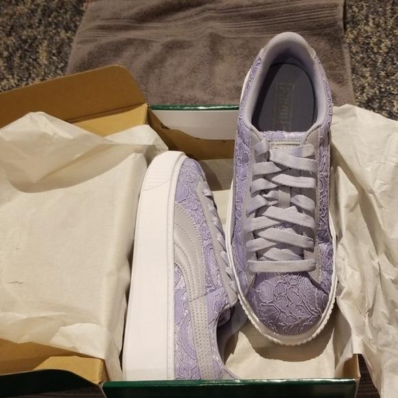 Puma Shoes | Lace Sneakers | Poshmark
